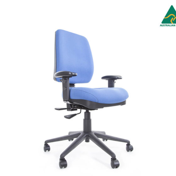 Miracle medium back ergonomic task chair with arms