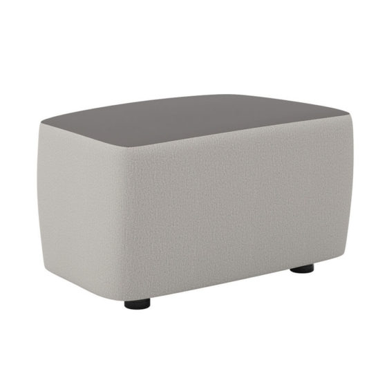 Mr Jones ottoman commercial furniture soft seating two tone