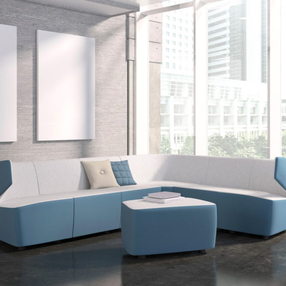 Mr Jones ottoman modular lounge sofas commercial furniture soft seating 37