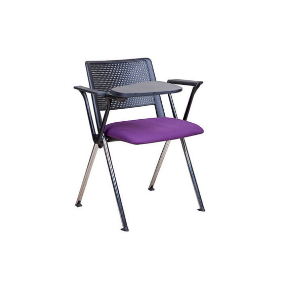 Nero educational tablet chair with purple seat pad