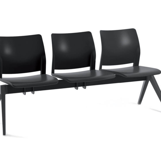Oxygen CS o2 Beam 3 seater waiting room seating
