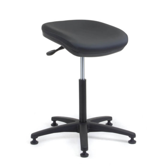 Perching Utility Stool side angle