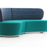 Pinto sofa fully upholstered 3 seater ocean