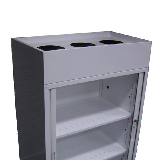 Tambour Accessories Planter Box on tambour unit