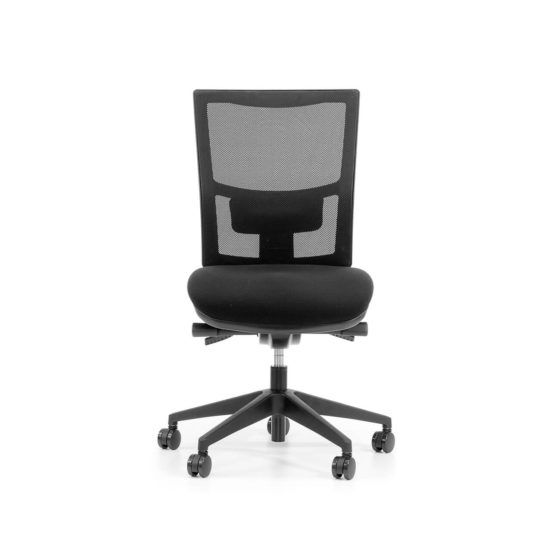 Team Air Executive task chair Mesh back syncro mechanism no arms