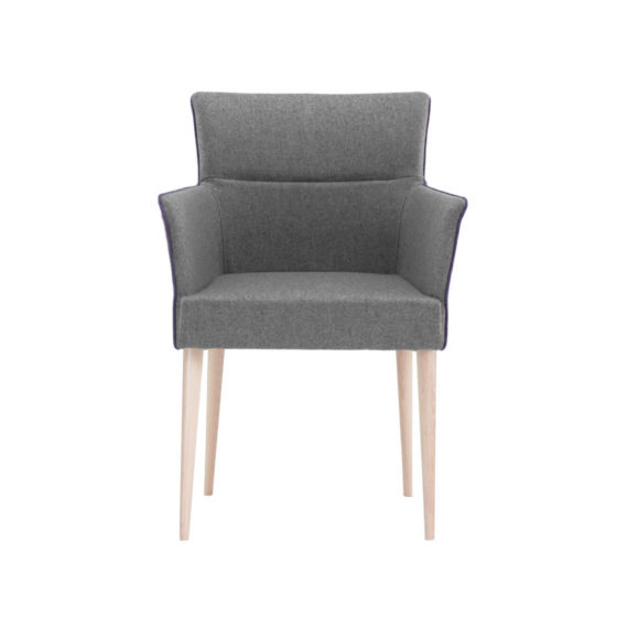 adele armchair timber frame
