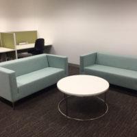 boxy lounge sofa fabric upholstery