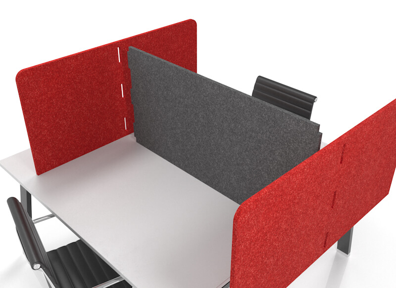 CUBEX double-sided pod in H configuration.  Join-detail, two colours.