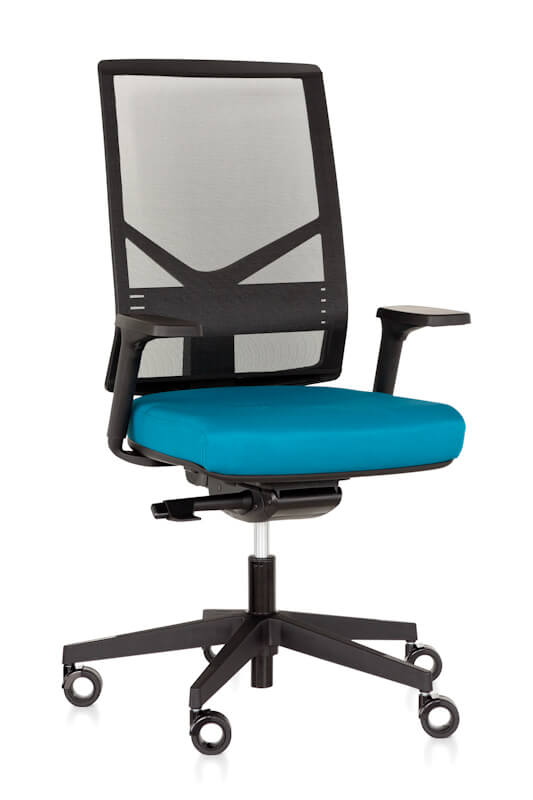 Eos by Gregory mesh back Executive task chair with adjustable arms