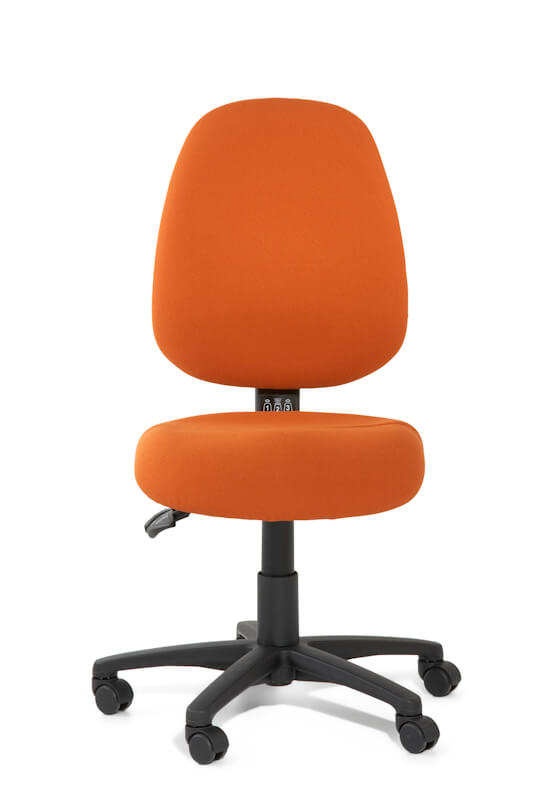 Inca high back task chair with dual density seat foam
