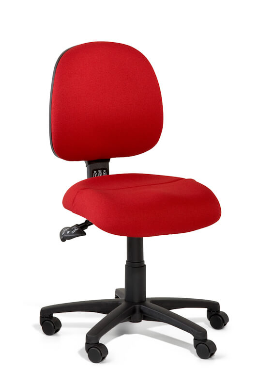 Inca medium back task chair with dual density seat foam