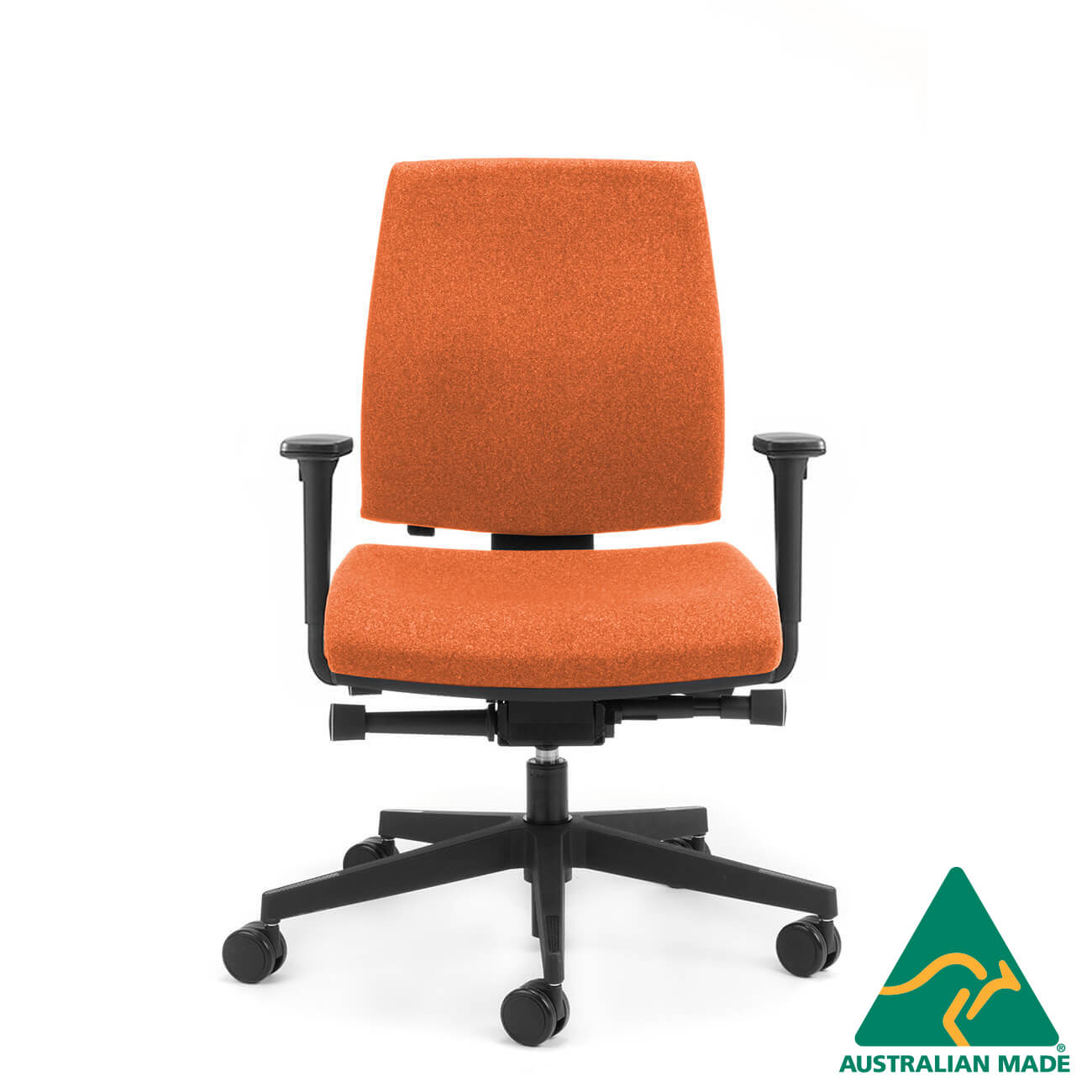 Kinetic medium back- executive-chair with arms side angle