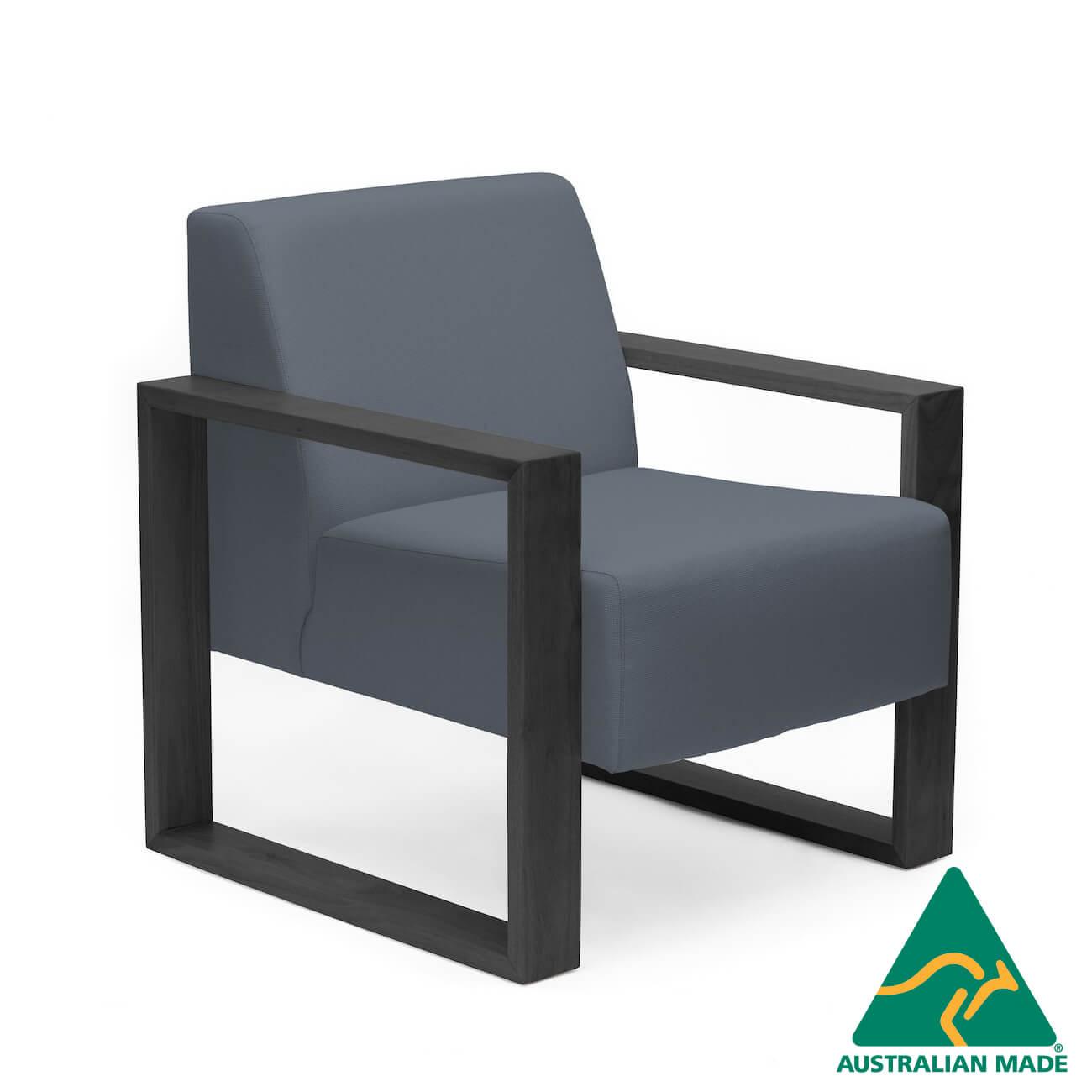 malibu-single-seater-black-timber-frame