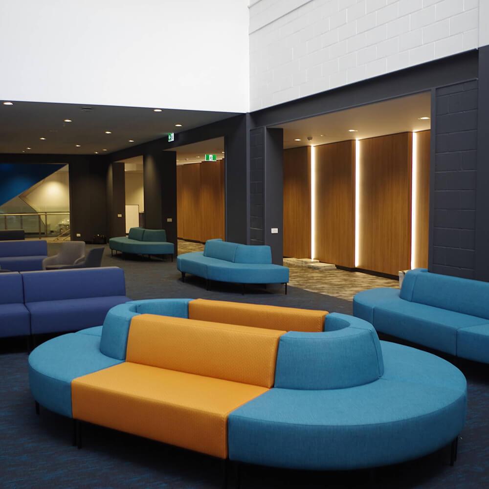Custom furniture for Federation Uni Sports Clinic