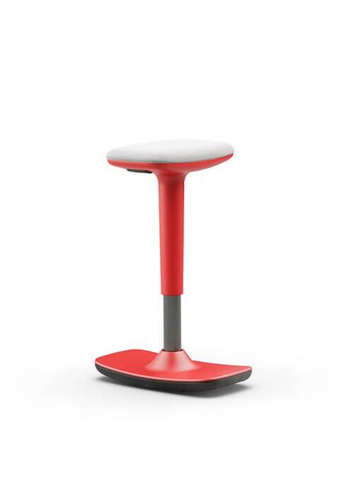 Leo-stool-red